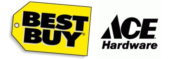 EHHF Sponsors; Best Buy and Ace Hardware