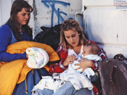 Homeless Single Mother